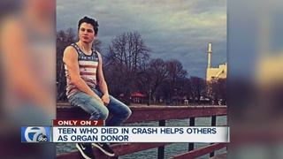17-year-old organ donor dies in tow truck crash