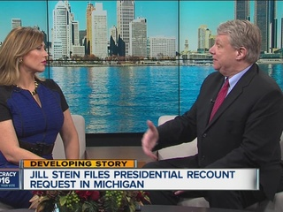 Stein requests presidential recount in MI