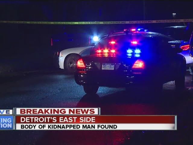Body of kidnapped man found in Detroit