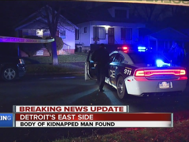 Kidnapping victim's body found in van