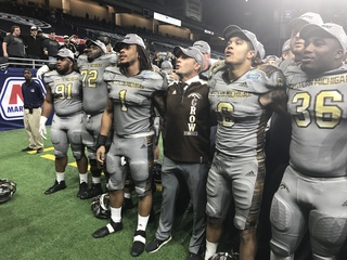 WMU caps off undefeated season, wins MAC title