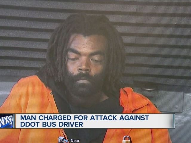 Man charged with attack on DDOT bus driver