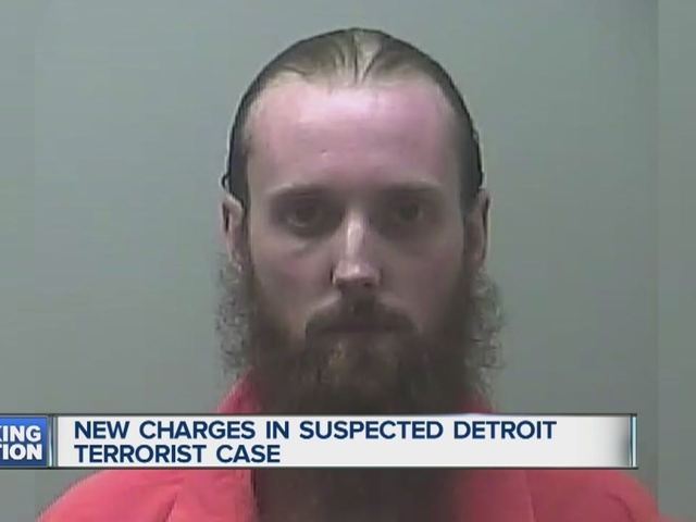 New charges in suspect Detroit terrorist case