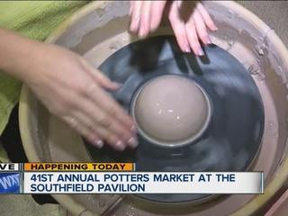 Southfield holds Potters Market