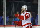 Green scores twice as Red Wings down Islanders