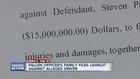 Suit seeks $15M for family of slain officer