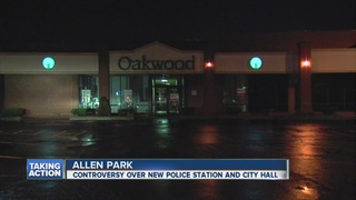 Tempers flare over new Allen Park city hall