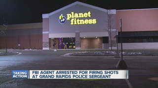FBI agent investigated, fired gun outside gym