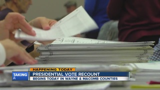 Recount efforts underway across several counties