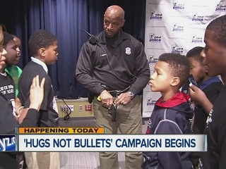 Detroit's Hugs Not Bullets campaign starts today