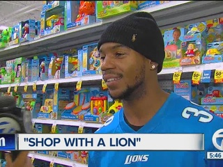 Lions welcome kids for annual 'Shop with a Lion'