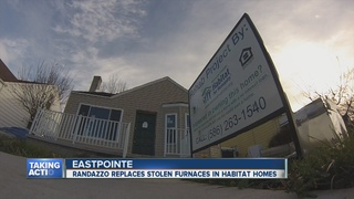 Stolen furnaces replaced in Habitat homes
