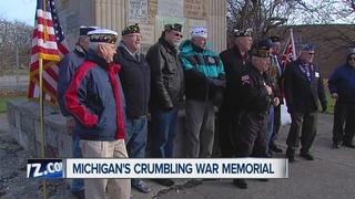Veterans hoping to save war memorial