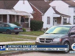 1-year-old drowns in bathtub in Detroit