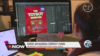 Author makes your kids the stars of the story