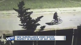 VIDEO: Suspect sought in Sgt. Rose's death