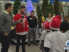 Red Wings host shopping spree - with a twist