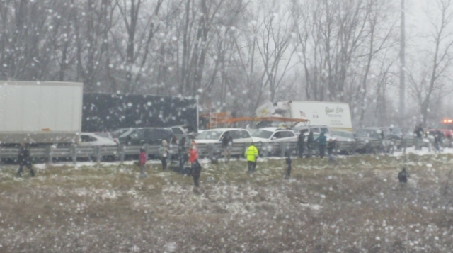 Fatalities reported in multi-vehicle crash