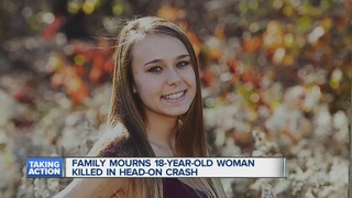 Woman killed in head on crash, charges pending