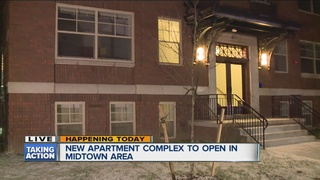 New Midtown Detroit apartment complex to open