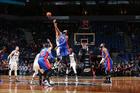 Drummond, Pistons thump Timberwolves