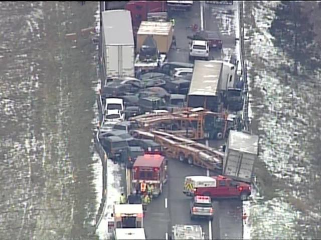 Police complete investigation into I-96 pileup that killed 3