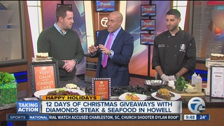 Diamond's Steak & Seafood launches Xmas giveaway