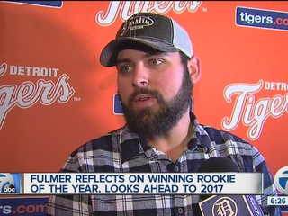Fulmer reflects on winning AL Rookie of the Year