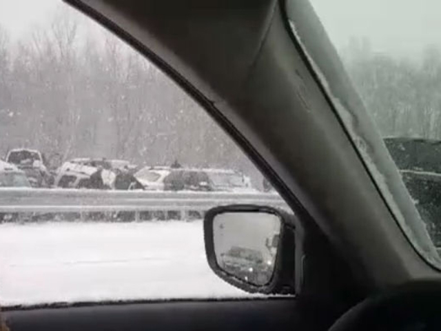 MSP: Dozens of cars involved in I-75 accident