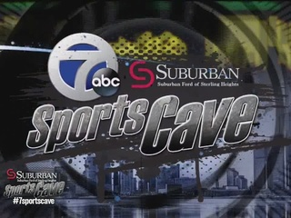 Justin Abdelkader joins the 7 Sports Cave