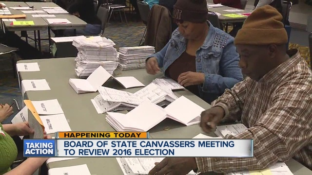 Board of State Canvassers to review issues from election