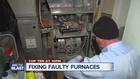 Falling temperatures mean busy repairmen
