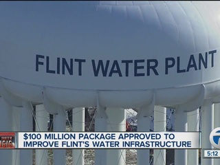 $100M package approved to improve Flint water