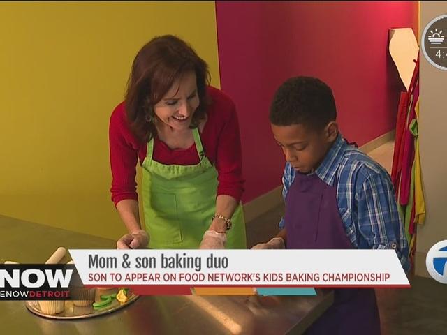 Moms A Genius Mom Teaches Son Baking Skills That Land Him On Food
