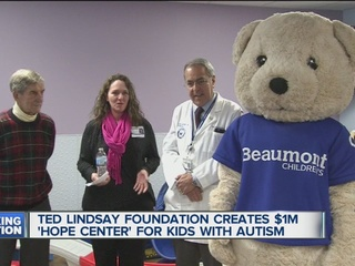 Lindsay donates $1M to help kids with autism