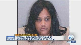 Woman dragged off flight is U of M professor