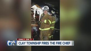 No one saying why Clay Twp. fire chief was fired
