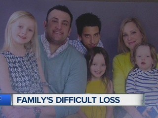 Family mourning tragic loss of father of four