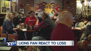 Lions fans disappointed with loss to Dallas