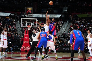 Career high for Leuer in Pistons loss to Hawks