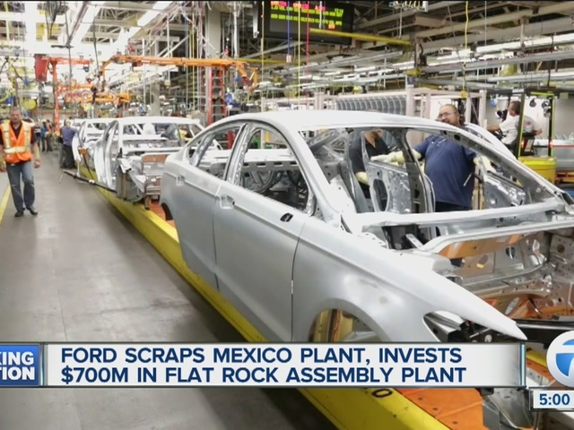 The Ford Motor Company Announced On Tuesday That It Plans To Invest 700 Million In Its Flat Rock Embly Plant And Create About New Jobs
