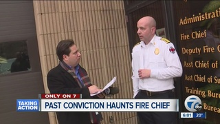 Past conviction haunts Dearborn fire chief