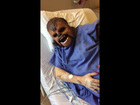 VIDEO: Mom wears Chewbacca mask during labor