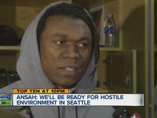 Lions prep for rowdy environment in Seattle