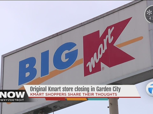 Original Kmart in Garden City among the stores the company will close in coming months