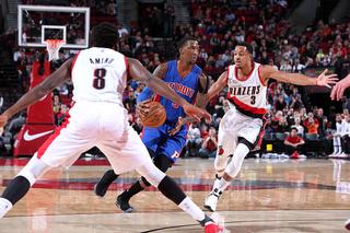 Pistons outlast Trail Blazers in double OT