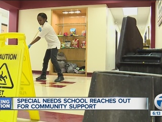 Supply drive for special ed charter school