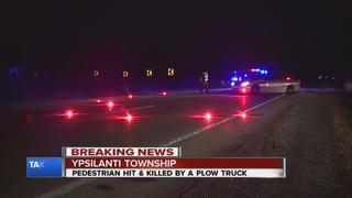 Pedestrian killed crossing Wiard Road