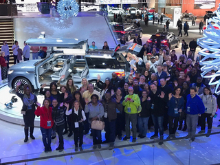 WXYZ/Detroit Auto Show Tweetup previews NAIAS