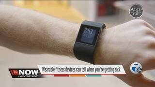 Wearables can tell when you're getting sick